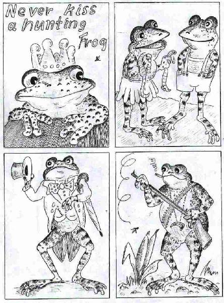 froggy coloring book of rw aristoquakes ii - Coloring Pages Frogs Toads
