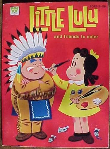 Little Lulu Coloring Books III