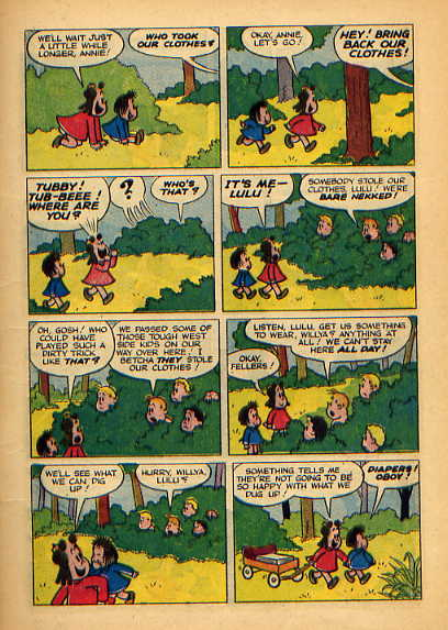 Little Lulu: Five Little Babies