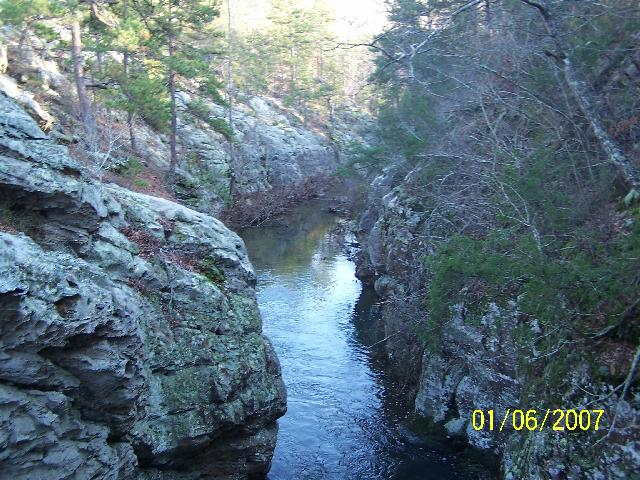 Indian Well And Creek Falls