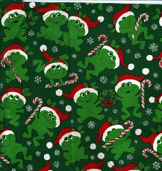 Frog wrapping paper for Best christmas wrapping paper
