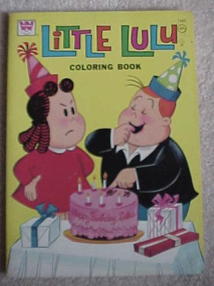 hallmark little lulu coloring books undated